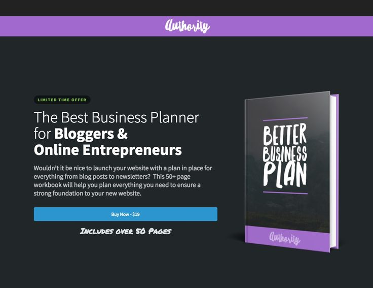 The Best Business Planner for Bloggers and Online Entrepreneurs