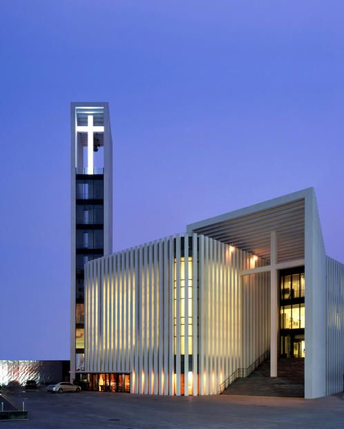 Christian Church - China, gmp Architekten von Gerkan, Marg und Partner