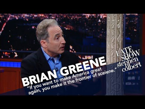 Brian Greene Makes Stuff Levitate. Seriously.