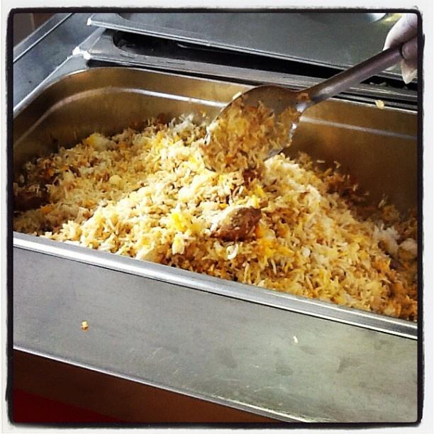 Ecco uno dei piatti proposti: dal Pakistan chicken biryani #ExpotourNapoli #ExpoTour #Expo2015 #ExpoMilano2015 #Napoli