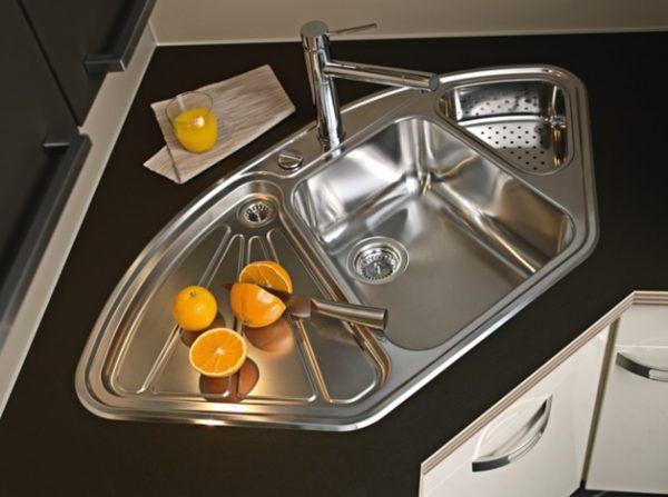 decoration cuisine evier angle evier angle inox darty w h cuisine pas cher 07580433 cuisine evier angle