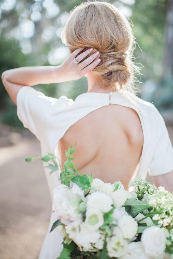 modern open back sarah seven gown