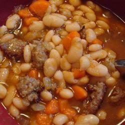 Sausage & White Bean Soup