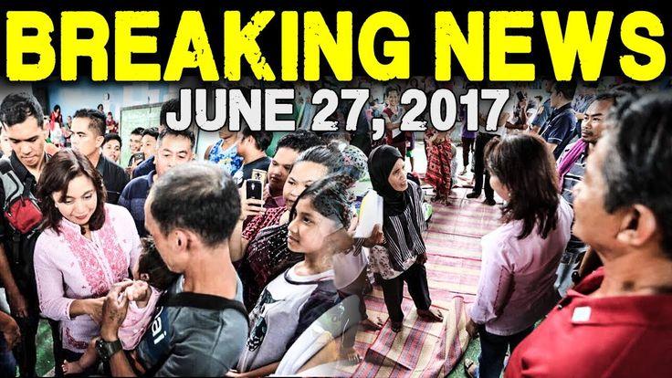 BREAKING NEWS TODAY JUNE 27 2017 VP LENI ROBREDO BUMISITA SA MGA EVACUAT...