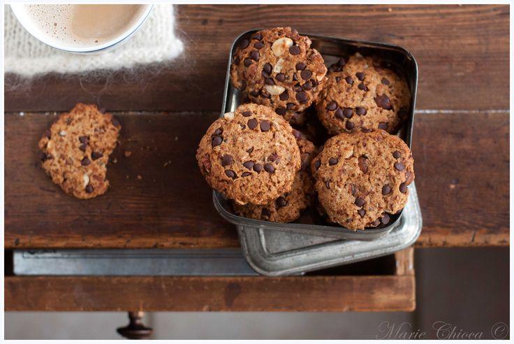 Cookies pralinés à l'okara de noisette (IG Bas, Vegan, Sans Lait, Sans Oeufs )