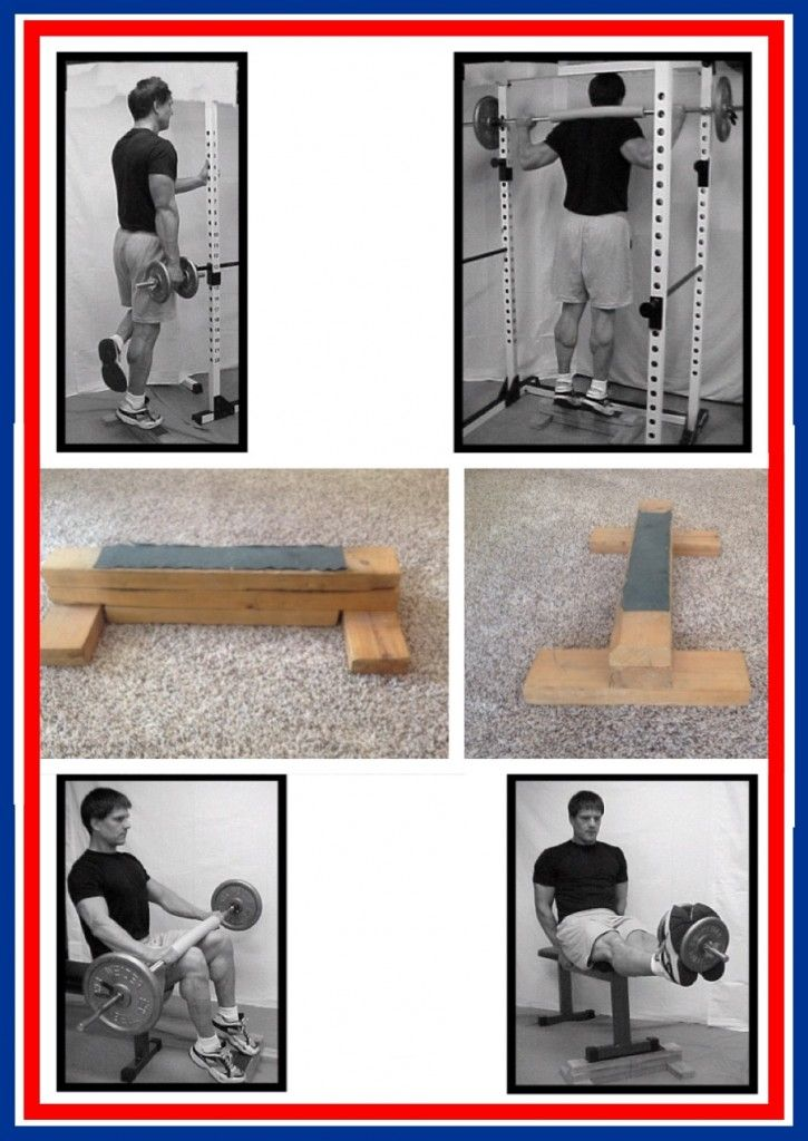 Want shapely, muscular calves? Here's plans to build a calf block and exercises for getting what you want!