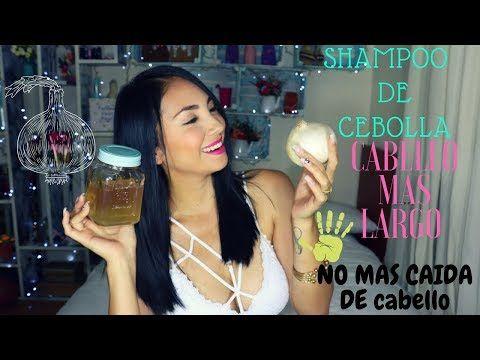 shampoo de cebolla y sabila ( haz crecer tu cabello super rapido ) - YouTube