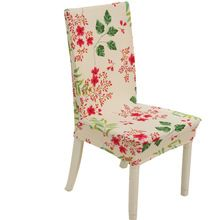 US $3.48 Floral print Home Dining Chair Cover elastic Chair Covers Spandex elastic cloth Universal Stretch. Aliexpress product