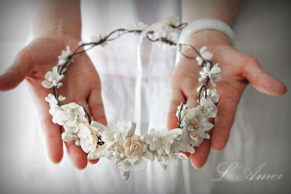 Best 25+ Beach Wedding Headpieces Ideas On Pinterest
