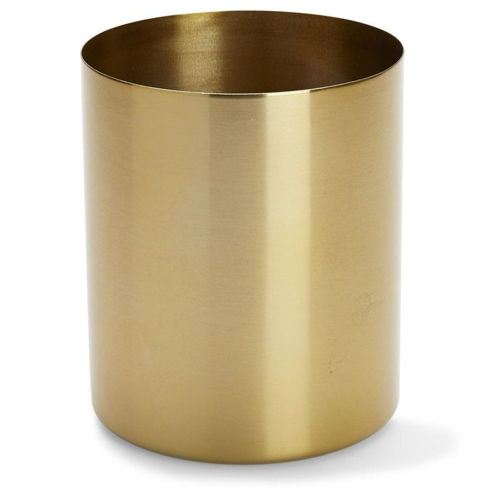 brass Metal Planter home & Co