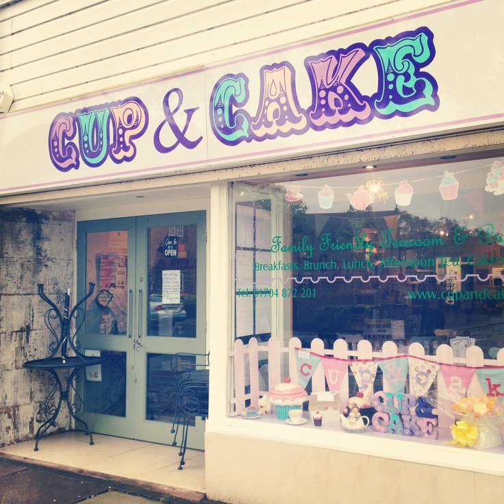 Cup & Cake in Formby