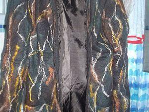 Мастер-класс: цельноваляное пальто на подкладке | Ярмарка Мастеров - ручная работа, handmade