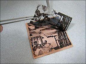 Step by Step - Photoetching Using Photocopy Transfer