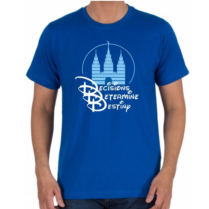 Decisions Determine Destiny Men's Shirt (PRE ORDER)