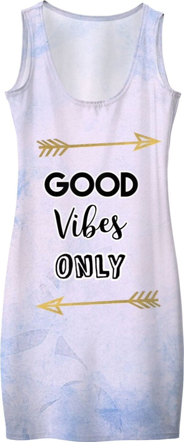 'Good Vibes Only' Quote design by indie hippie. This custom Boho 'bohemian'/ hippie dress was created for the unique individual♡ #style #fashion