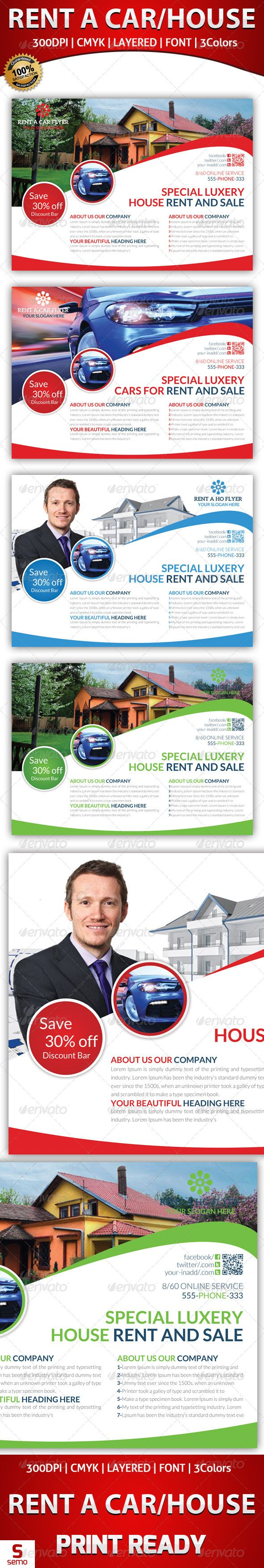 best ideas about commercial buildings for rent rent a house and car flyer template graphicriver rent a house and car flyer template