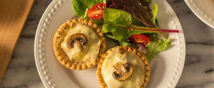 Tartelettes aux champignons et au fromage Le Calumet