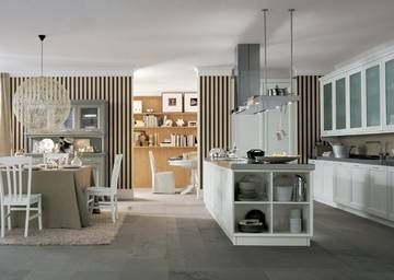 ... Cucina Ad Isola su Pinterest  Isole Cucina, Interior design e Cucine