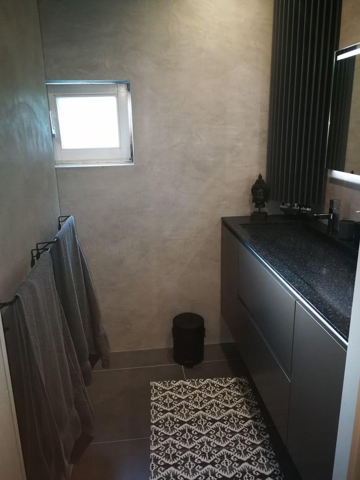 Blij met nieuwe badkamer Beal mortex @decostuc tilburg