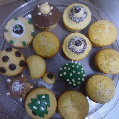 #cupcakes for #christmas