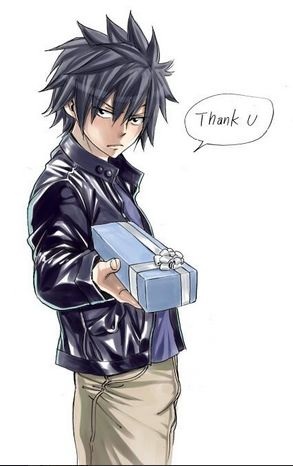 A gift for all of my followers from Gray Fullbustef himself!