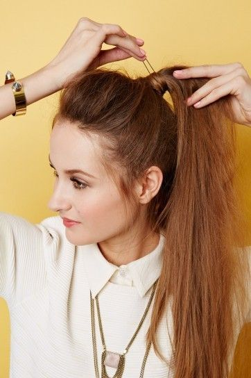 Galerry peinados coleta alta