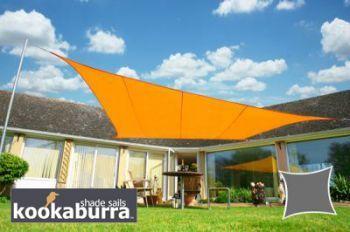Voile d'Ombrage Orange Rectangle 4x3m - Imperméable - 160g/m2 - Kookaburra