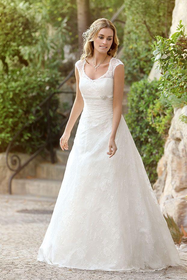 24 besten Brautkleider Bilder auf Pinterest | Hochzeitskleider ...