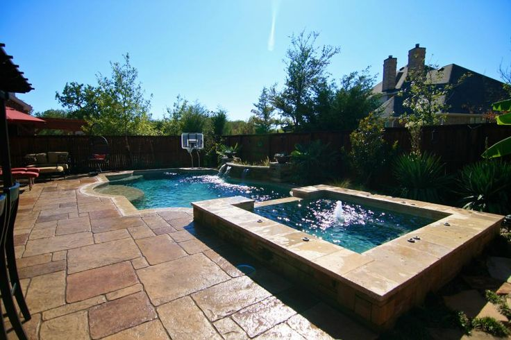 17 best images about custom inground pool designs on for Design pool klein