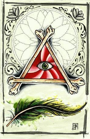 Flash tattoo pluma,watercolor,acuarela.