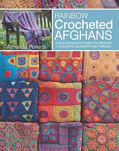 Rainbow Crocheted Afghans book by Amanda Perkins