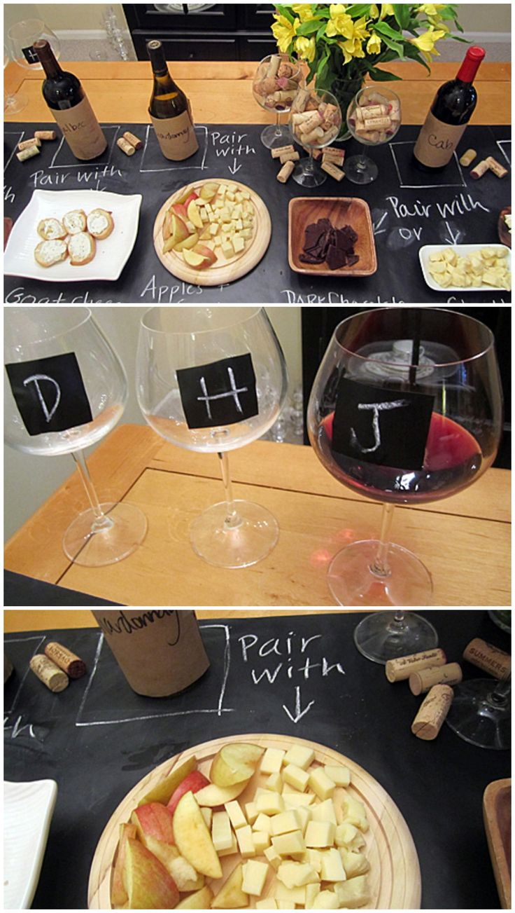 Wine and Cheese pairing for home party