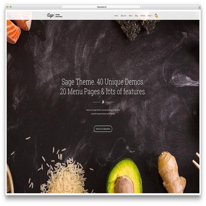 sage-creative-fullscreen-restaurant-wordpress-theme