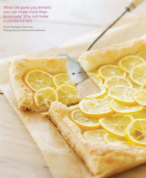 StunningDesserts, Recipe, Lemon Tarts, Food, Puffs Pastries, Meyer Lemon, Doce Paul, Sweet Paul Magazines, Spring 2012
