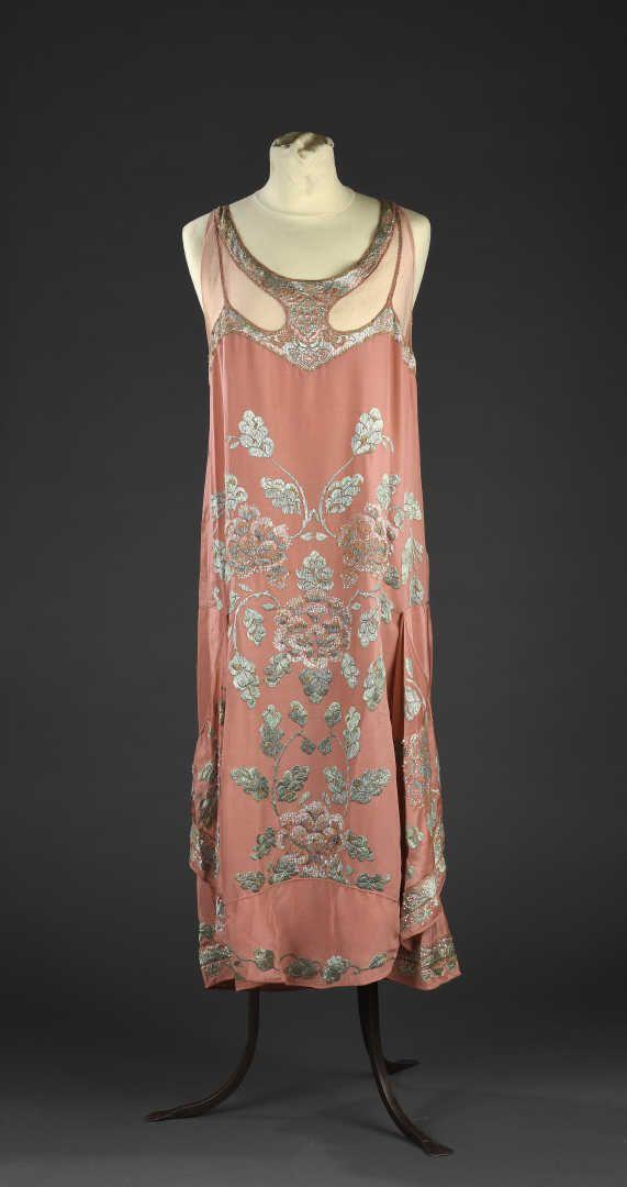 Robe du soir, attribuée à Callot soeurs, vers 1925 | Daguerre