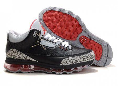 Air jordan 3+air max fusion mens black-white-red shoes - Jordan 3 air max  fusion - Mobile 64fcb9e11