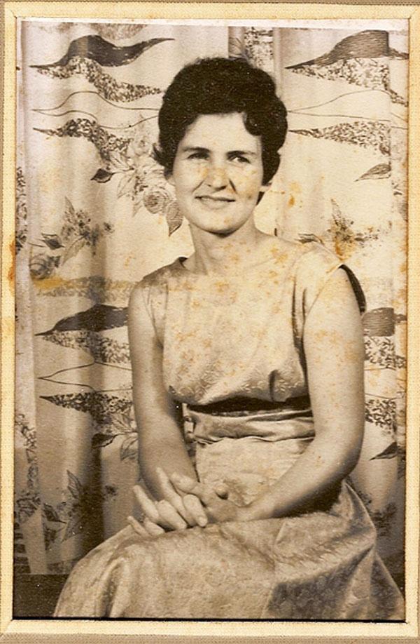 Sister, Beverley Burnie (Hill), b.1935 - d.2010