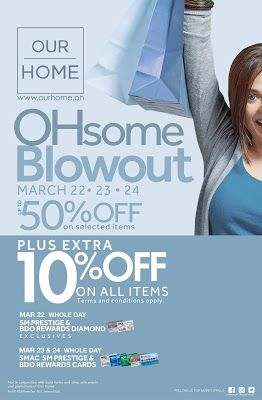 4dc627a195c04 Our Home OHsome Blowout Sale: March 2019 | Salezoneph Philippine ...