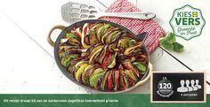 Recept voor Tian van tomaat, aubergine en courgette #Lidl #Tomaat