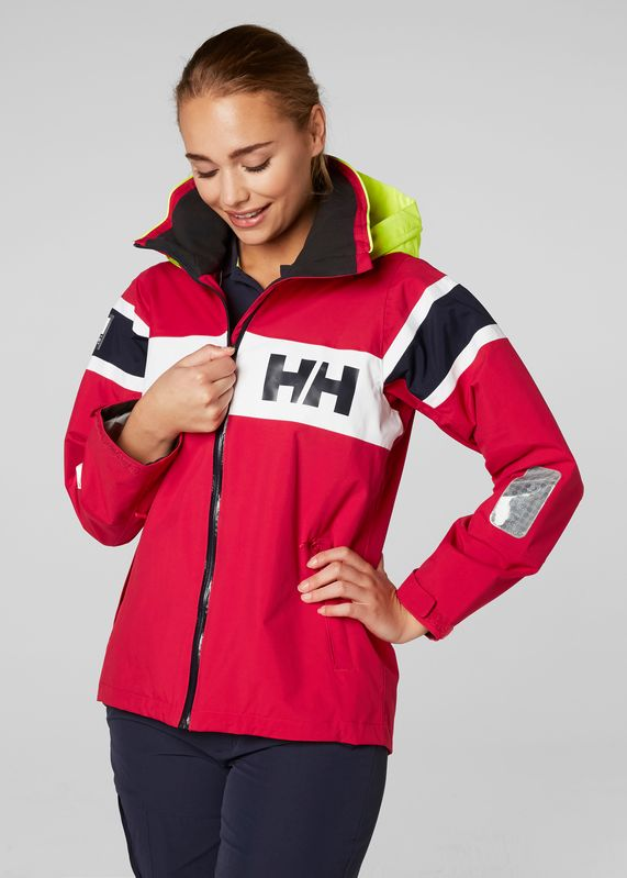 W Salt Flag Jacket by Helly Hansen. Shop it at mallofnorway.com. The Salt Flag Jacket is made for versatile use on the water. Designed with the classic Helly Hansen flag stripe. #hellyhansen #allthingsnorwegian #mallofnorway