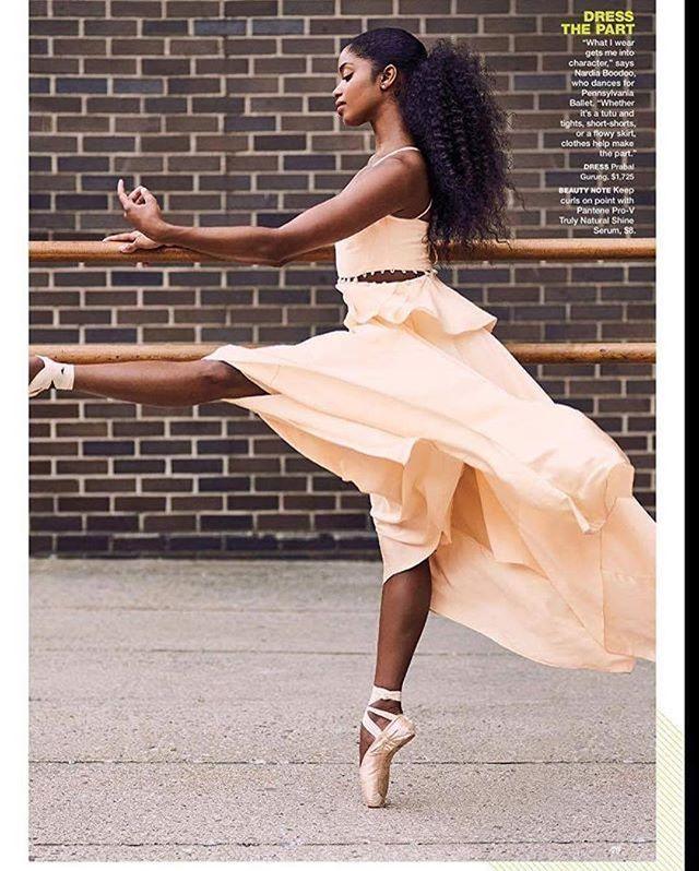 Pennsylvania Ballet's Nardia Boodoo ballerina