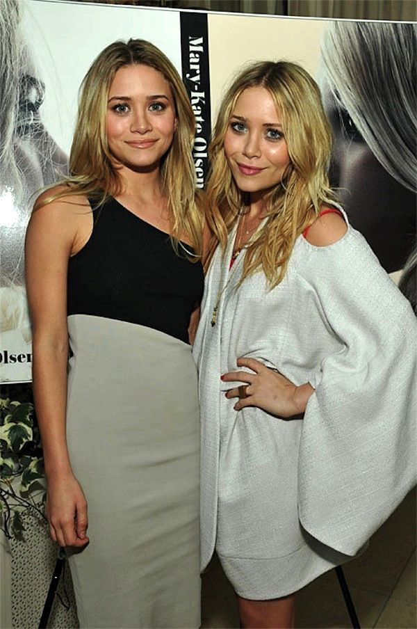 MARY-KATE   ASHLEY | STATEMENT SHOULDERS