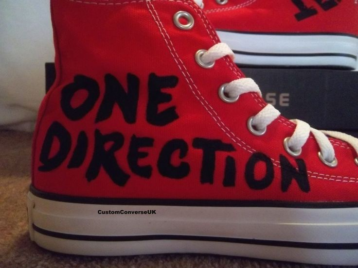 Never be late to class with #OneDirection sneakers