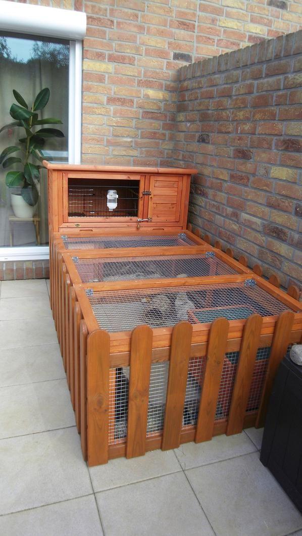 die 25 besten ideen zu kaninchenstall auf pinterest indoor kaninchenstall kaninchenk fig und. Black Bedroom Furniture Sets. Home Design Ideas