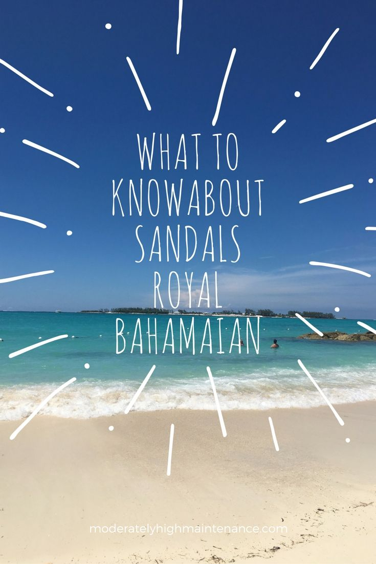 Everything you need to know about  Sandals Royal Bahamian, Nassau! Read this before your next all inclusive vacation!