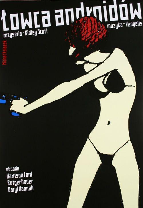 Blade Runner, Ridley Scott, Polish Poster