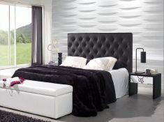 Têtes de lit Rembourrées: Modèle VERSALLES Cendre