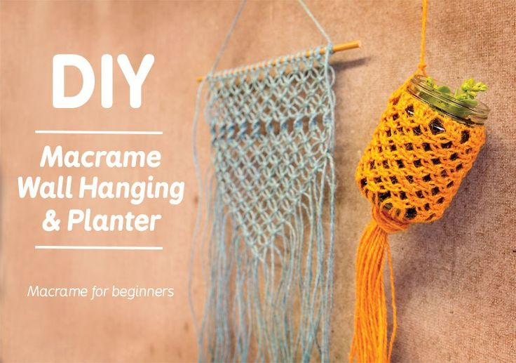 Learn how to Macrame in 6 easy steps! - CleverPatch