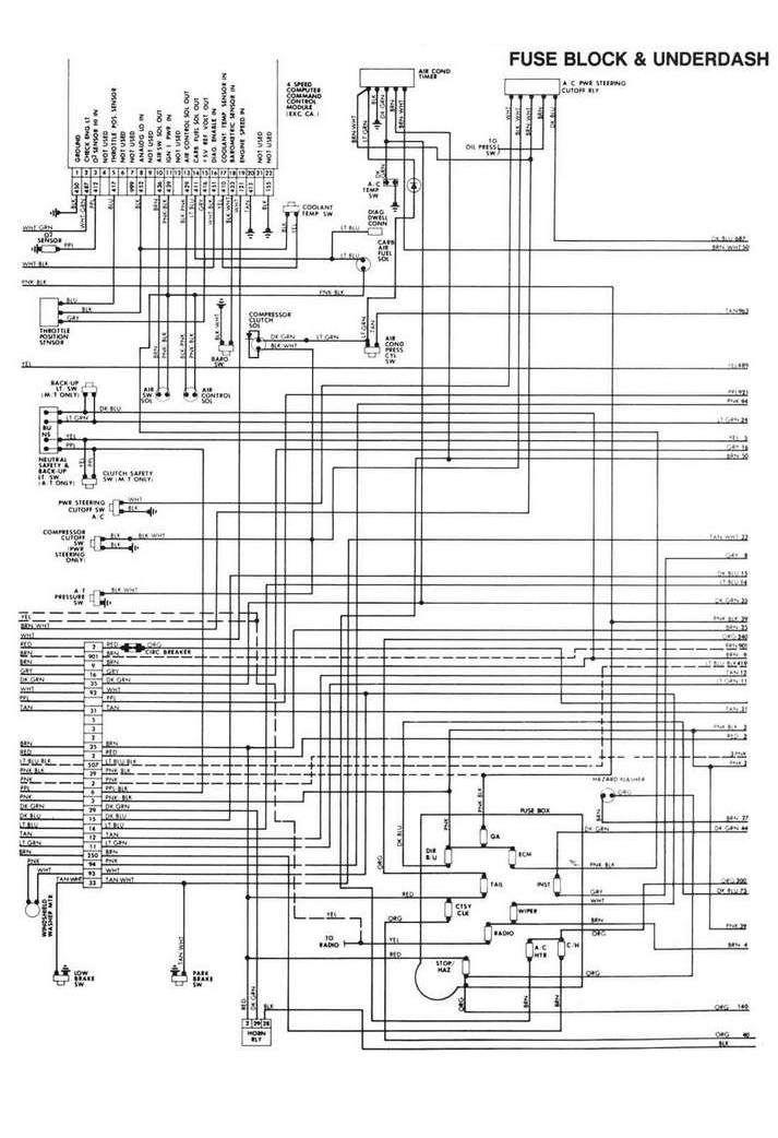 Nema L14 30p Wiring Diagram Schaltplan Chevy Ford Ranger