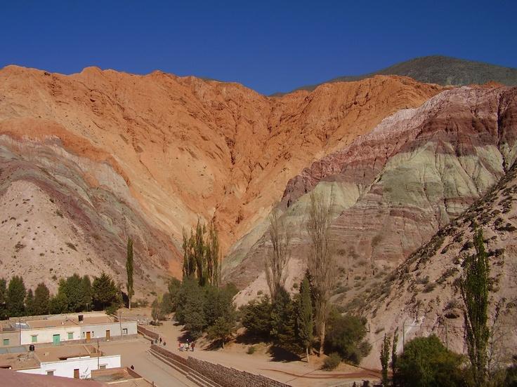 Cerro de los 7 colores. Purmamarca 2006 - Jujuy - Argentina.
